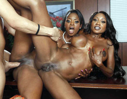 Jasmine Webb and Diamond Jackson pull..