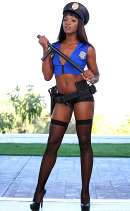 Ana Foxx was hired to dress up as a..